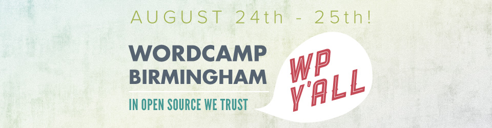 WordCamp Birmingham 2013