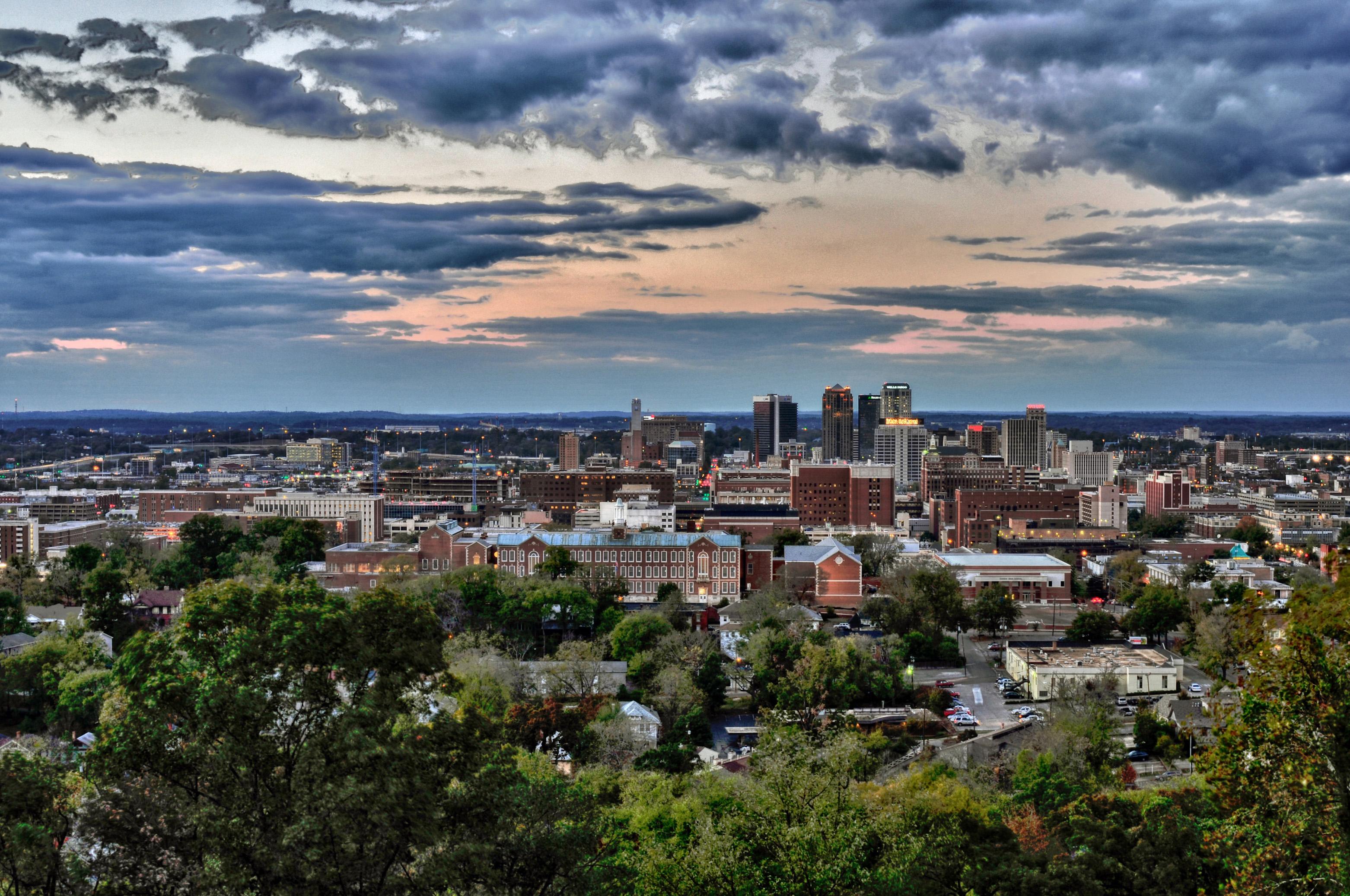 Birmingham Skyline credit Ted Tucker